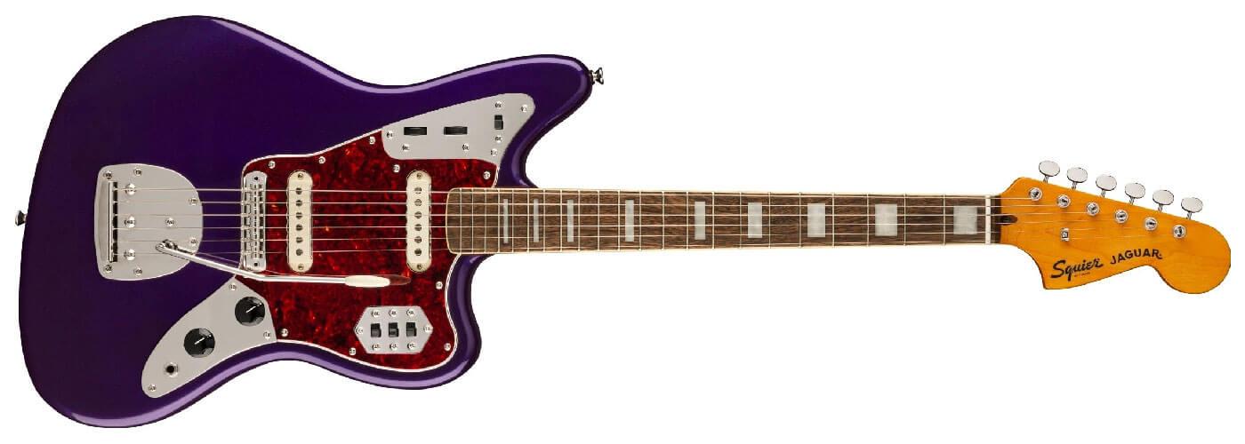 Squier CV FSR Purple Metallic Jaguar