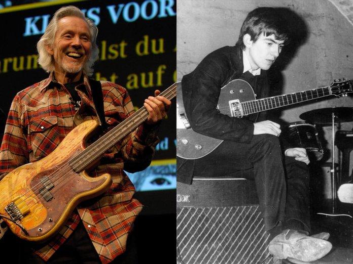 Klaus Voorman and George Harrison