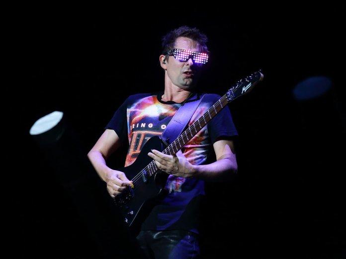 Matt Bellamy onstage