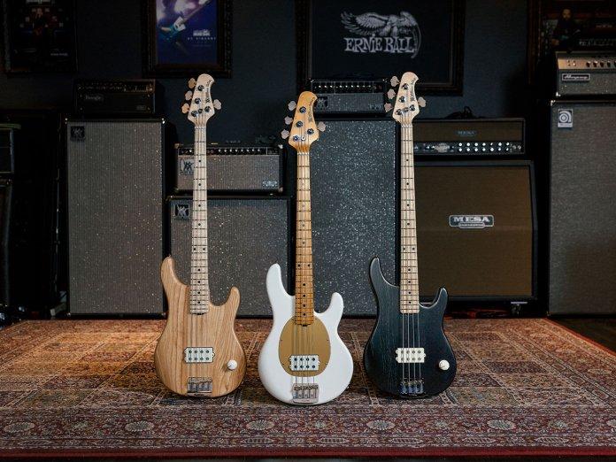 Joe Dart's new basses.