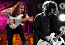 Steve Harris and Dave Grohl