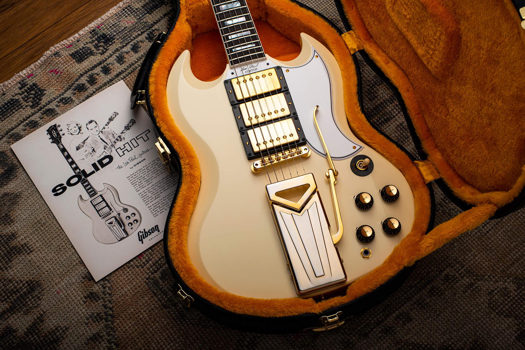 60th Anniversary 1961 Les Paul SG Custom