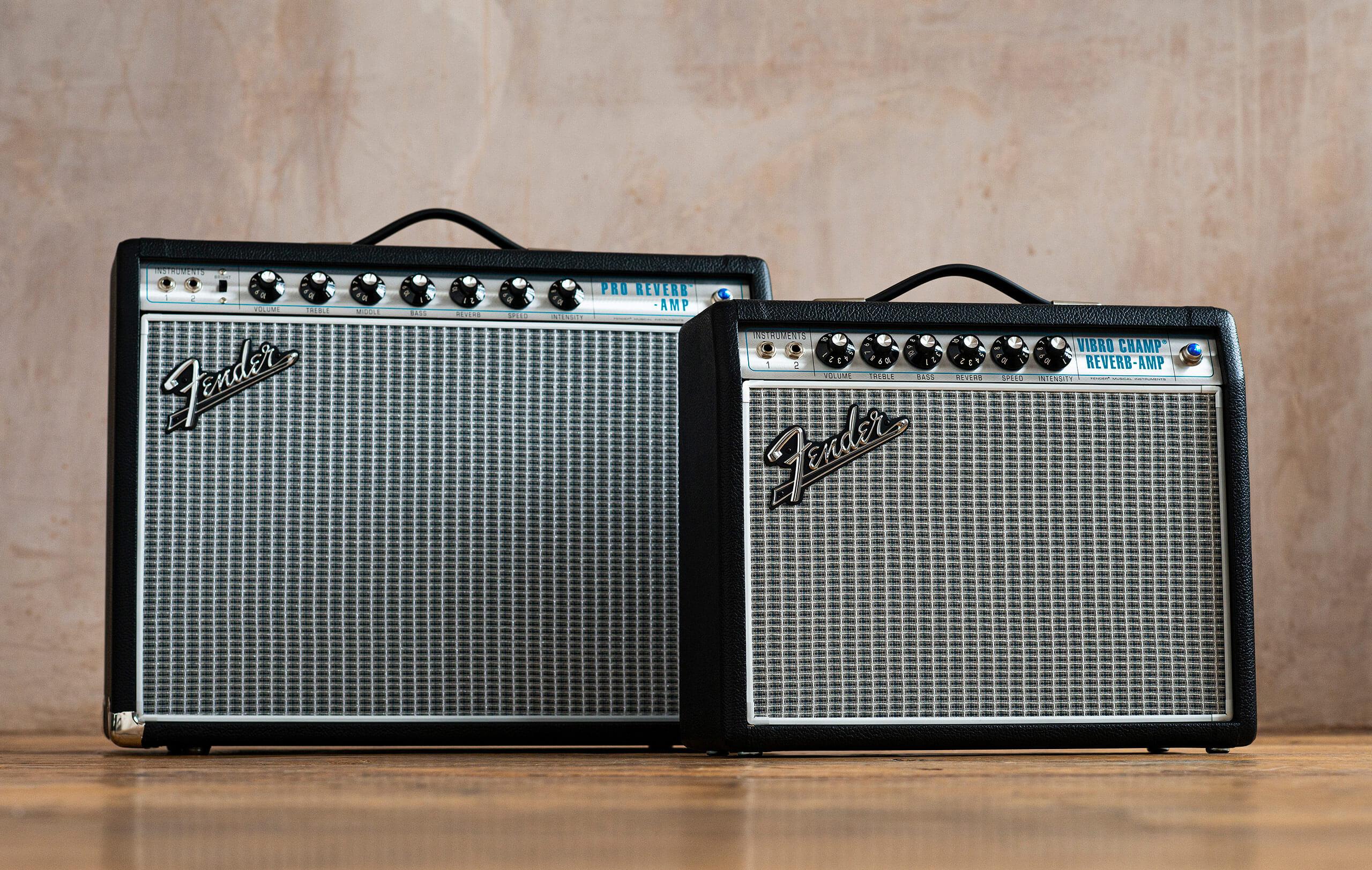 Fender '68 Custom Pro Reverb and Vibro Champ Reverb