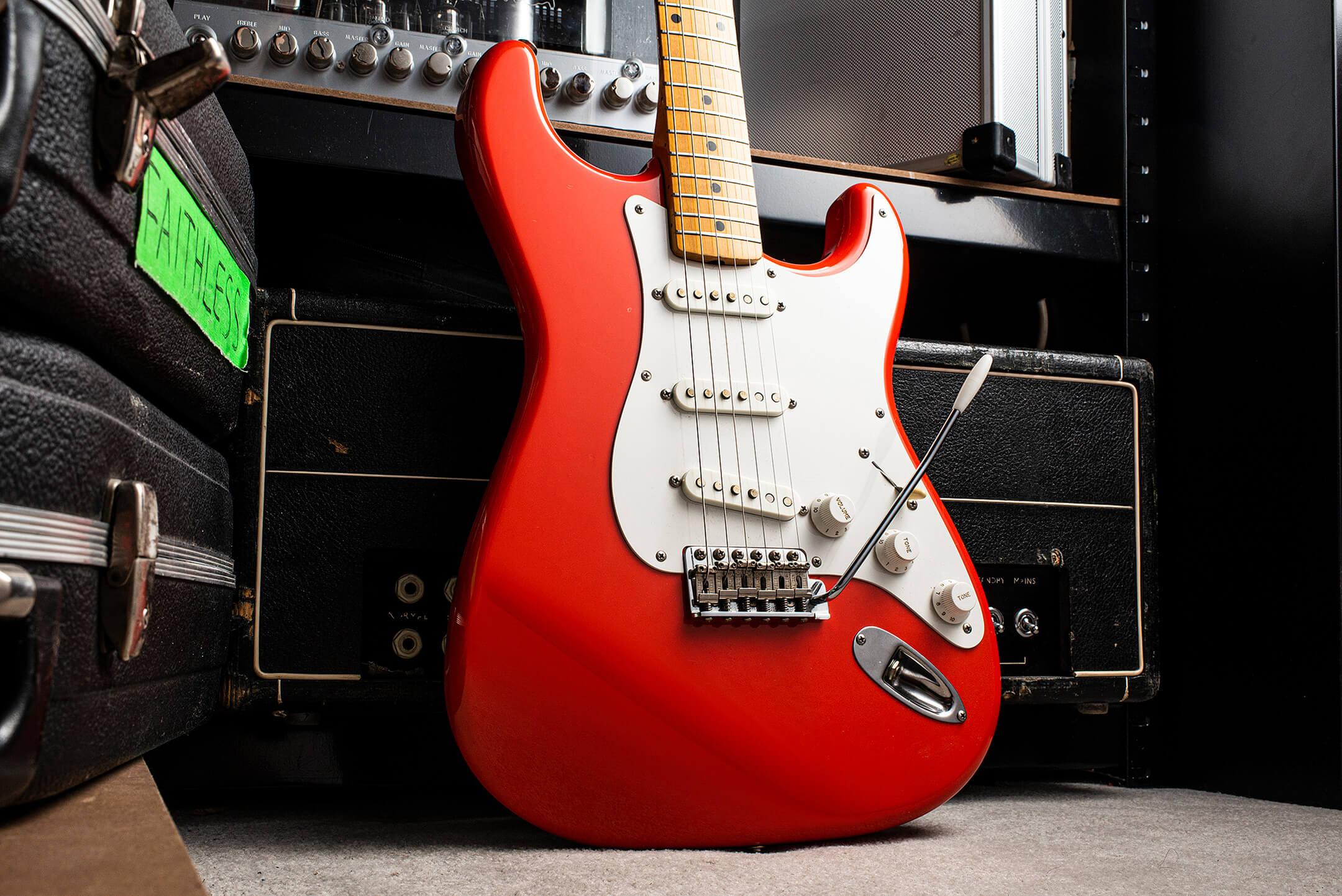 Peredur ap Gwynedd's Stratocaster
