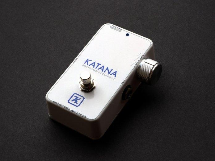 Keeley Katana New Finish=