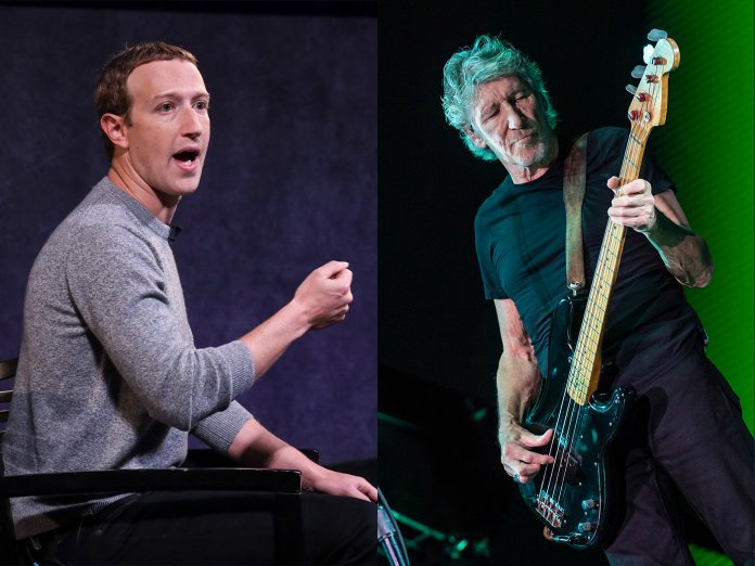Mark Zuckerberg, Roger Waters