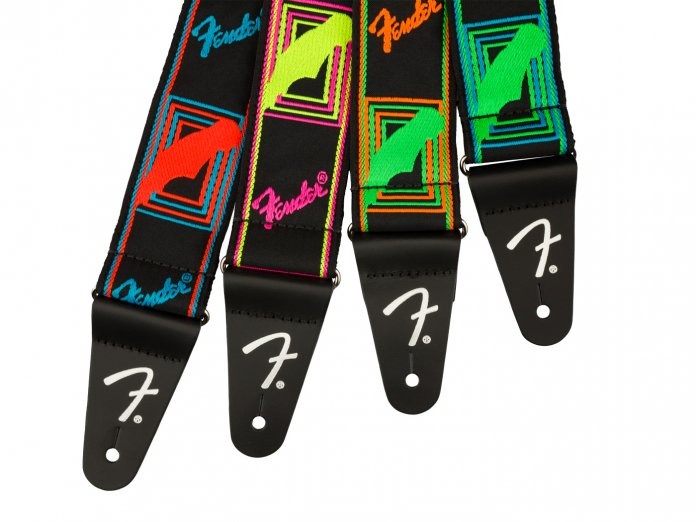 Fender Neon Monogram Strap