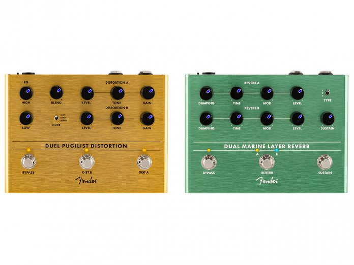 Fender new pedals 2021