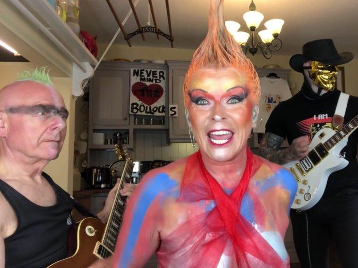 Robert Fripp and Toyah Sex Pistols Pretty Vacant