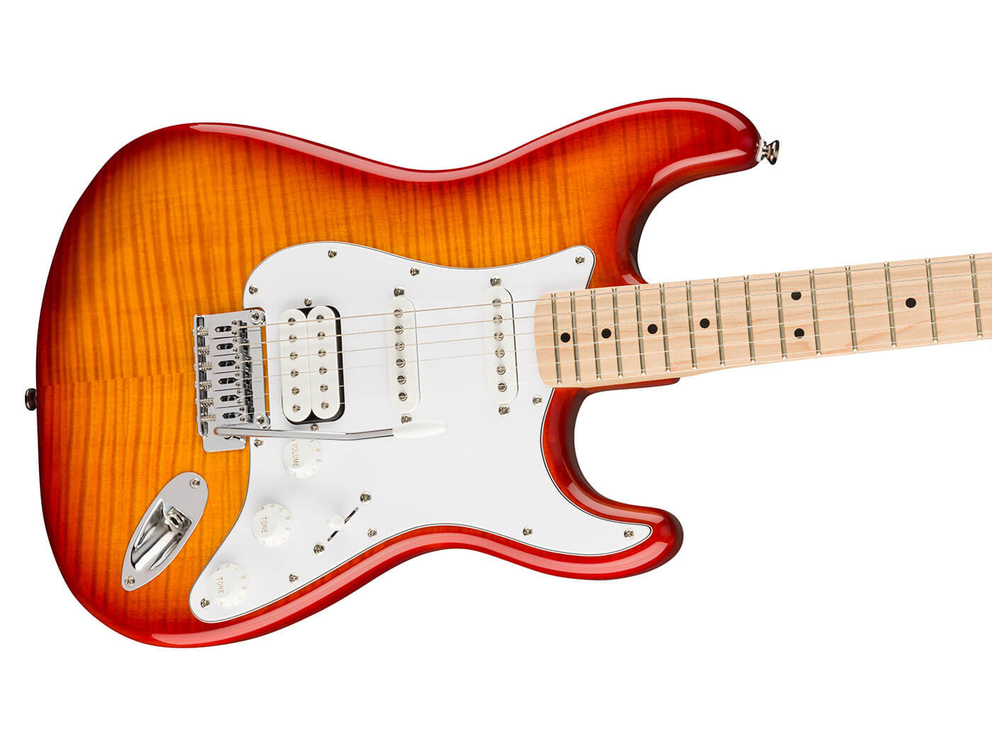 The Affinity Strat, Flame Maple Top