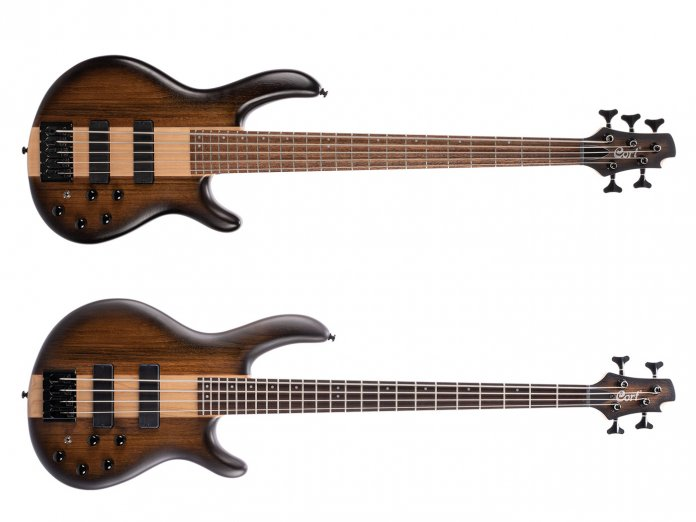 Cort's new C4 and C5 basses