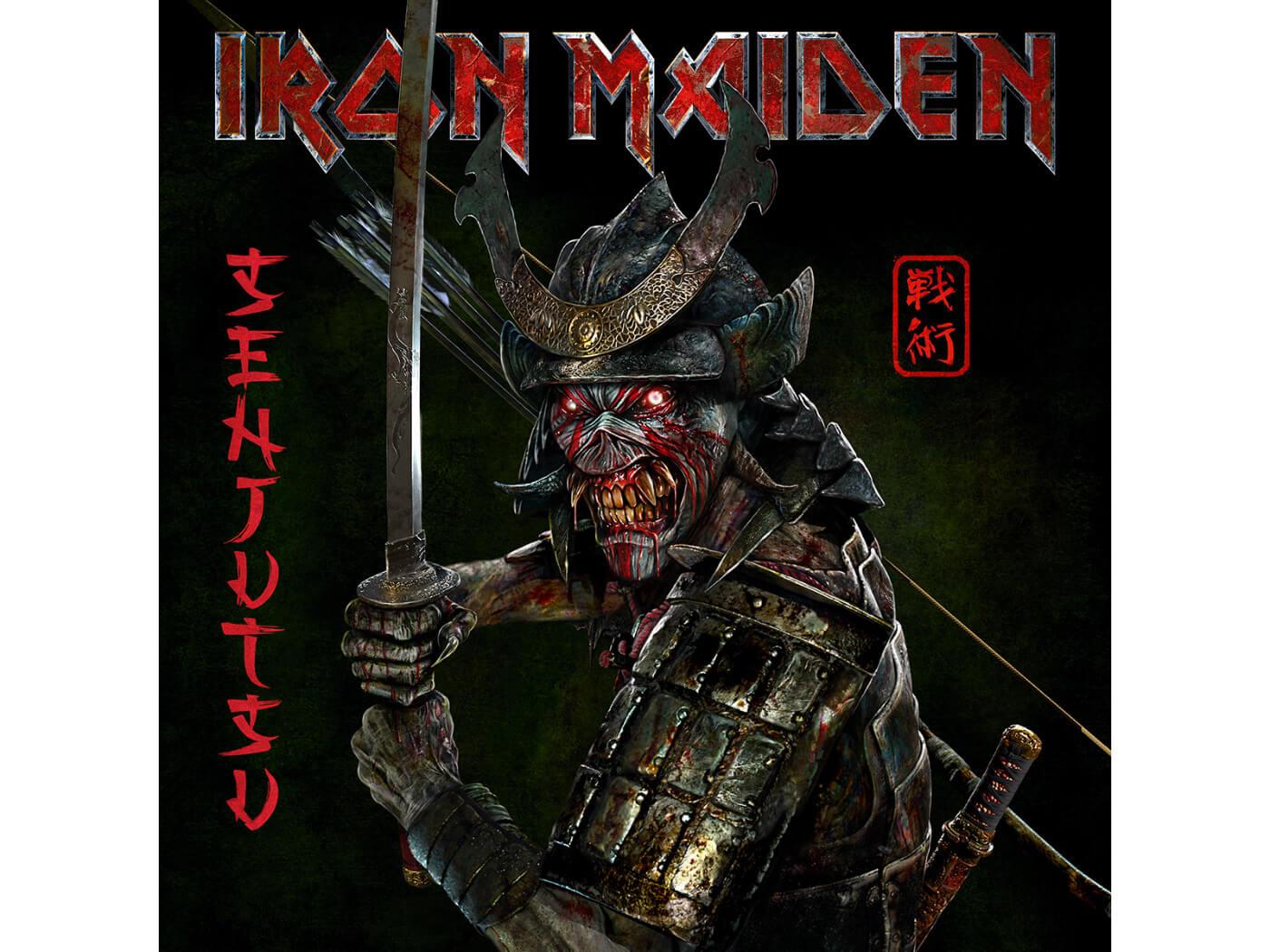 Iron Maiden's new album cover