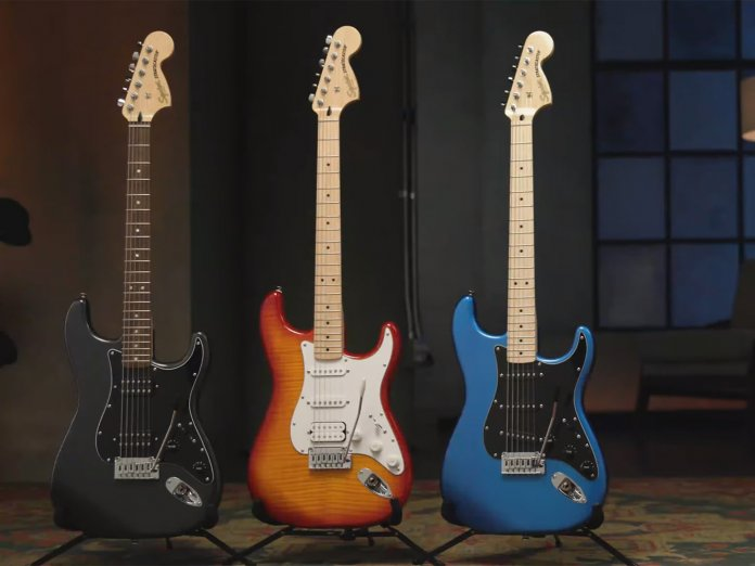 The new Squier Affinity Strats