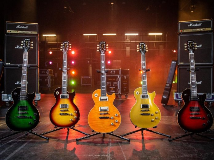 Slash's new Epiphone guitars