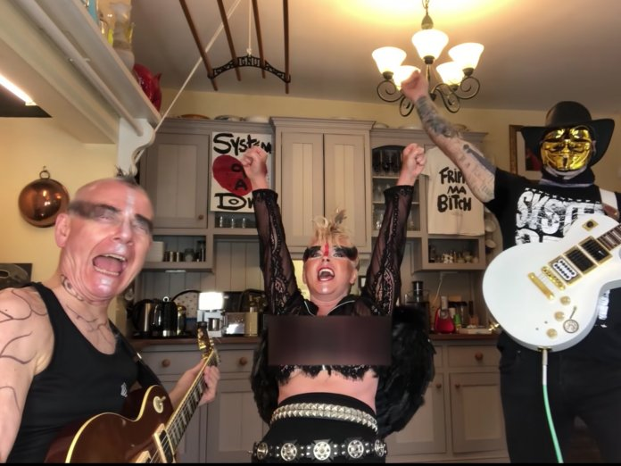 Toyah and Robert Fripp cover Chop Suey System Of A Down