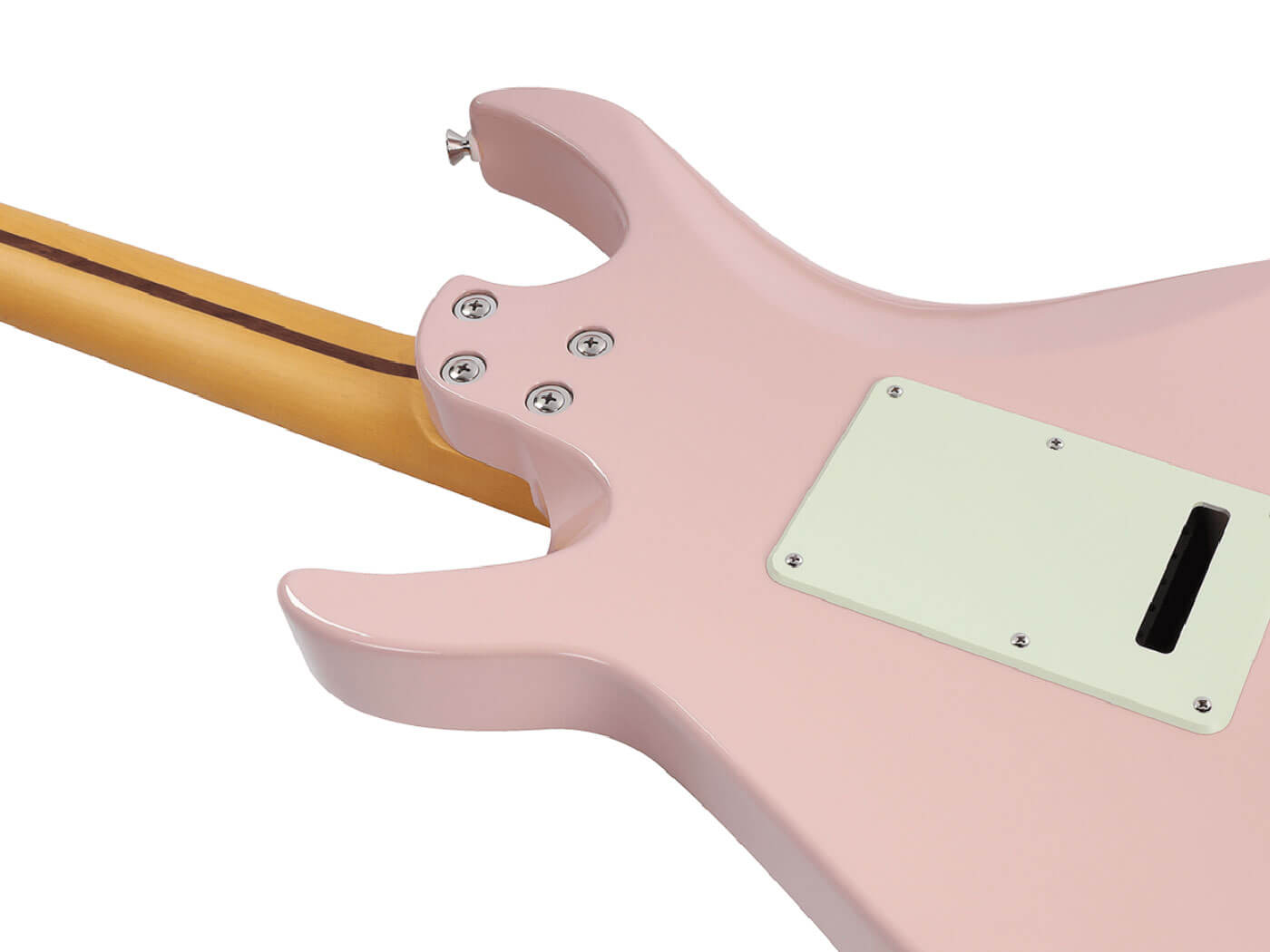 Vola's new guitars' neck join