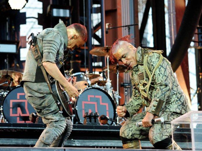 Rammstein onstage