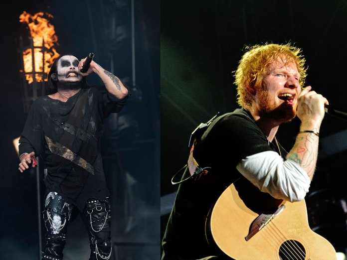 Dani Filth, Ed Sheeran