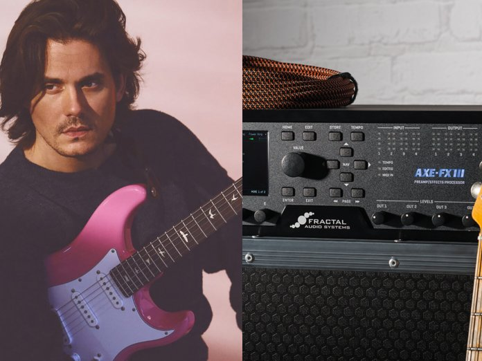 John Mayer, and a Fractal Axe FX