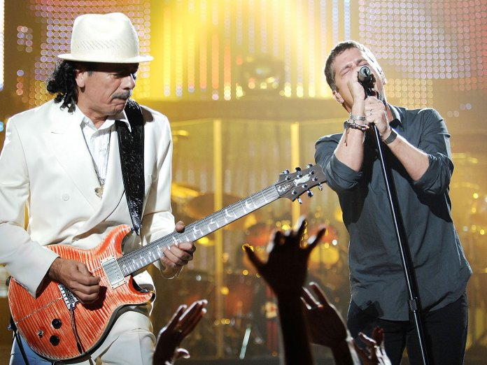 Santana & Rob Thomas