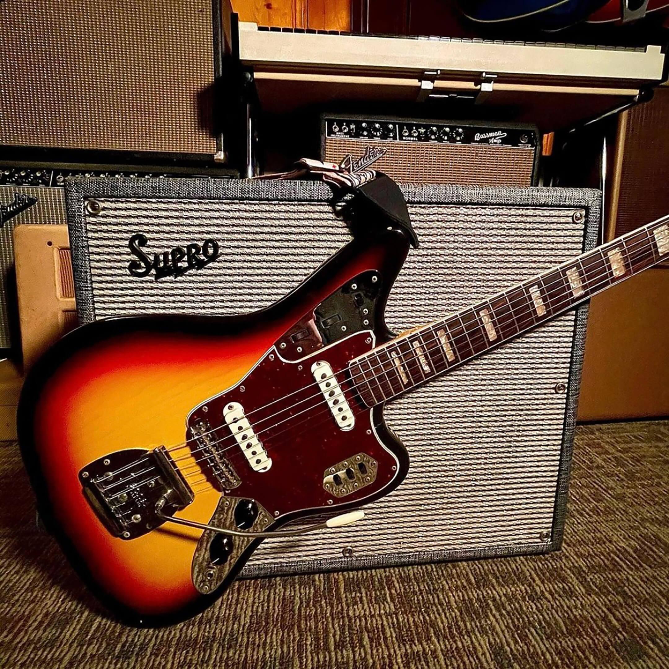 GA-20's 1968 Fender Jaguar