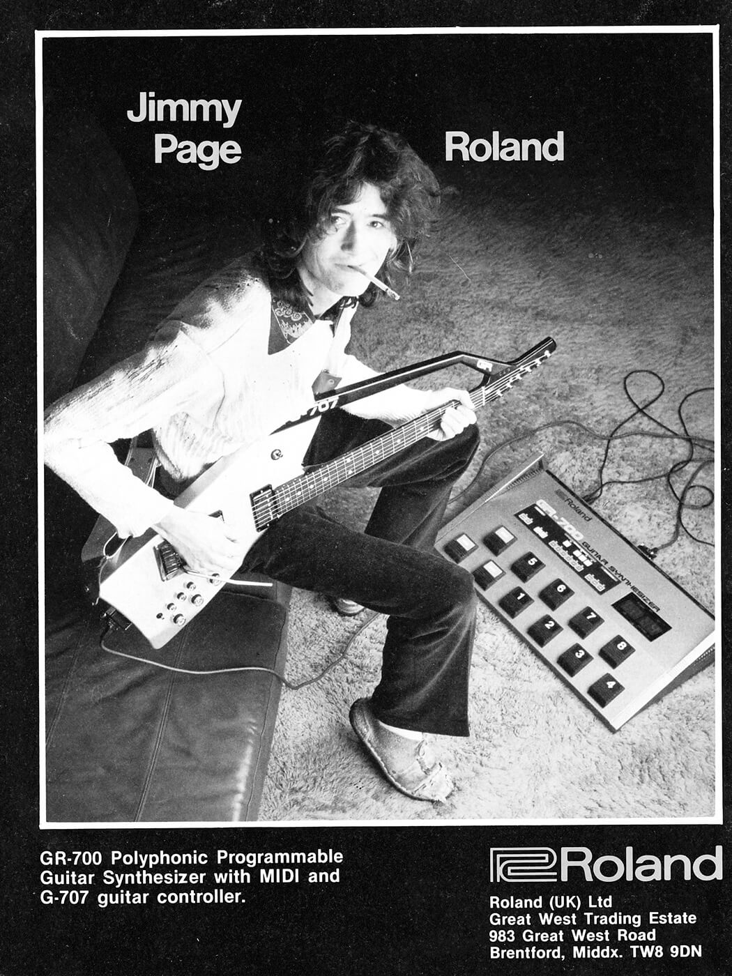 Jimmy Page Roland