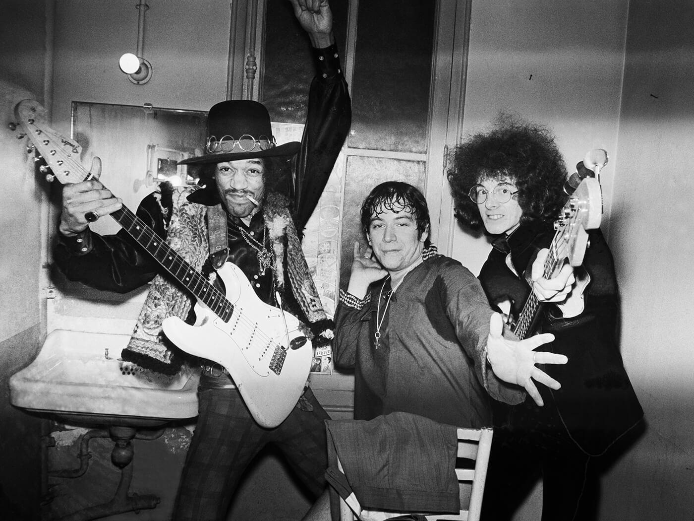 Jimi Hendrix, Eric Burdon and Noel Redding