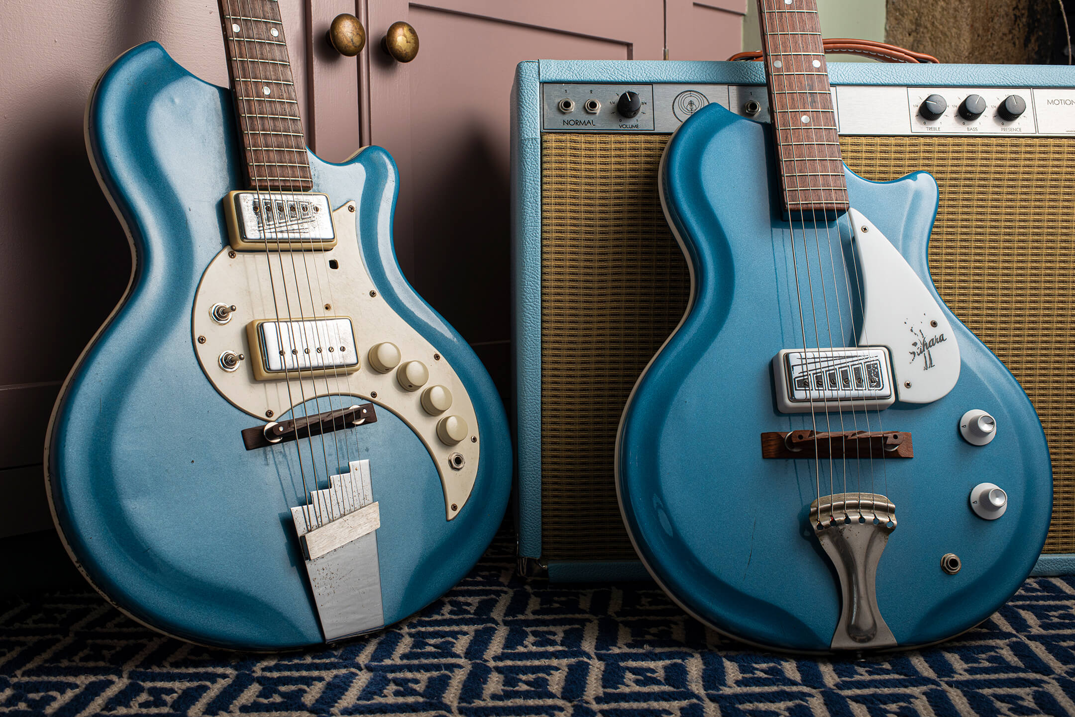 Marc Ransley's 1965 Supro Tremo-Lectric and Sahara