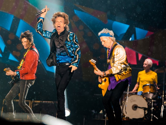 Rolling Stones onstage