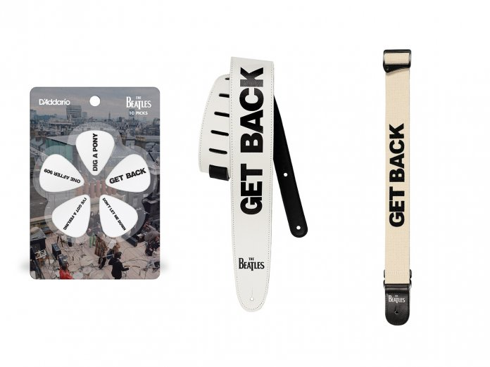 D'Addario's Get Back accessories