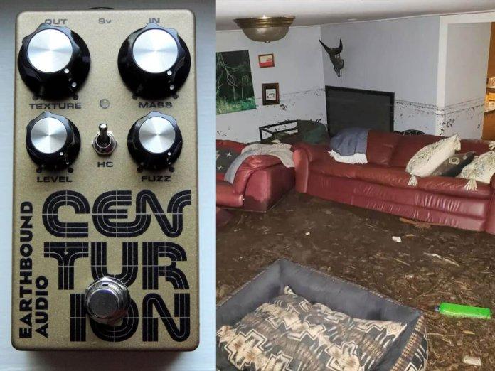 Earthbound Audio flood damage