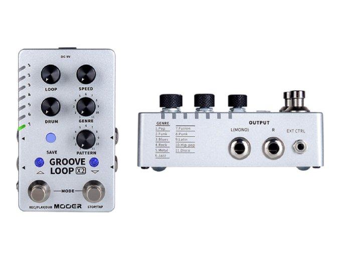 Mooer's Groove Loop X2