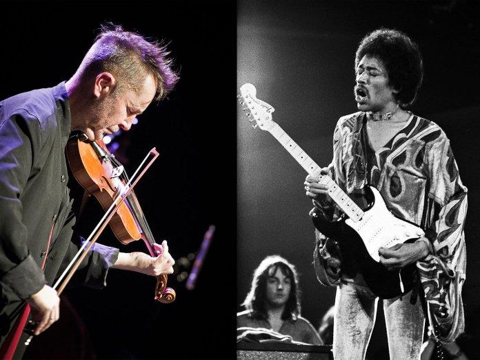 Nigel Kennedy, Jimi Hendrix