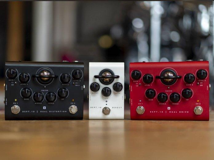 Blackstar Dept. 10 pedals