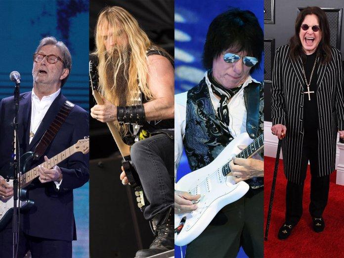 Eric Clapton, Zakk Wylde, Jeff Beck, Ozzy Osbourne
