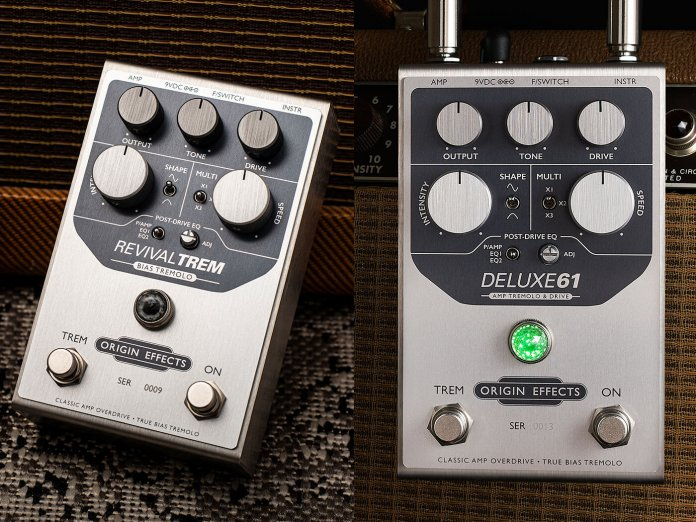 Origin Effects RevivalTREM, renamed to the DELUXE61
