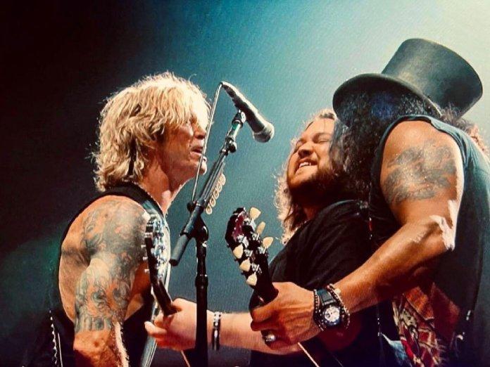 Wolfgang Van Halen, Guns N Roses