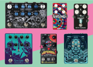 New guitar pedals effects june 2018