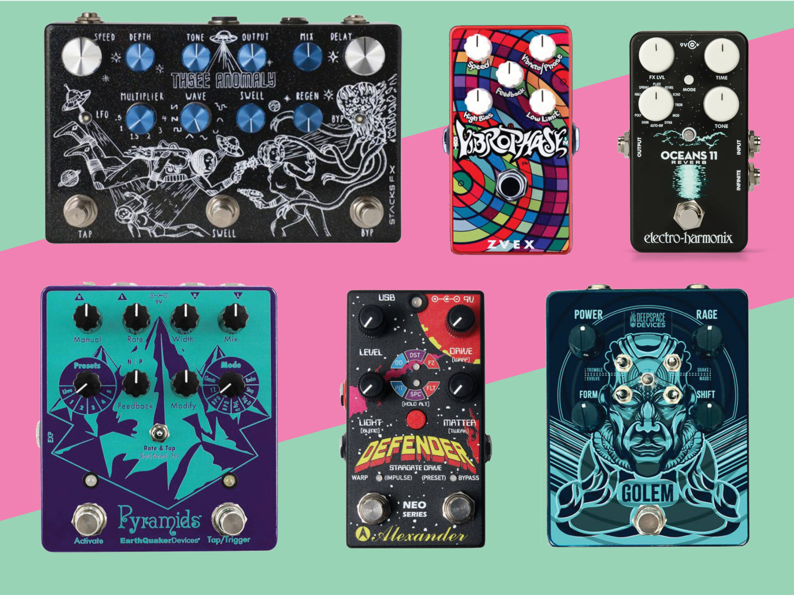 12 new pedals and effects units for June 2018