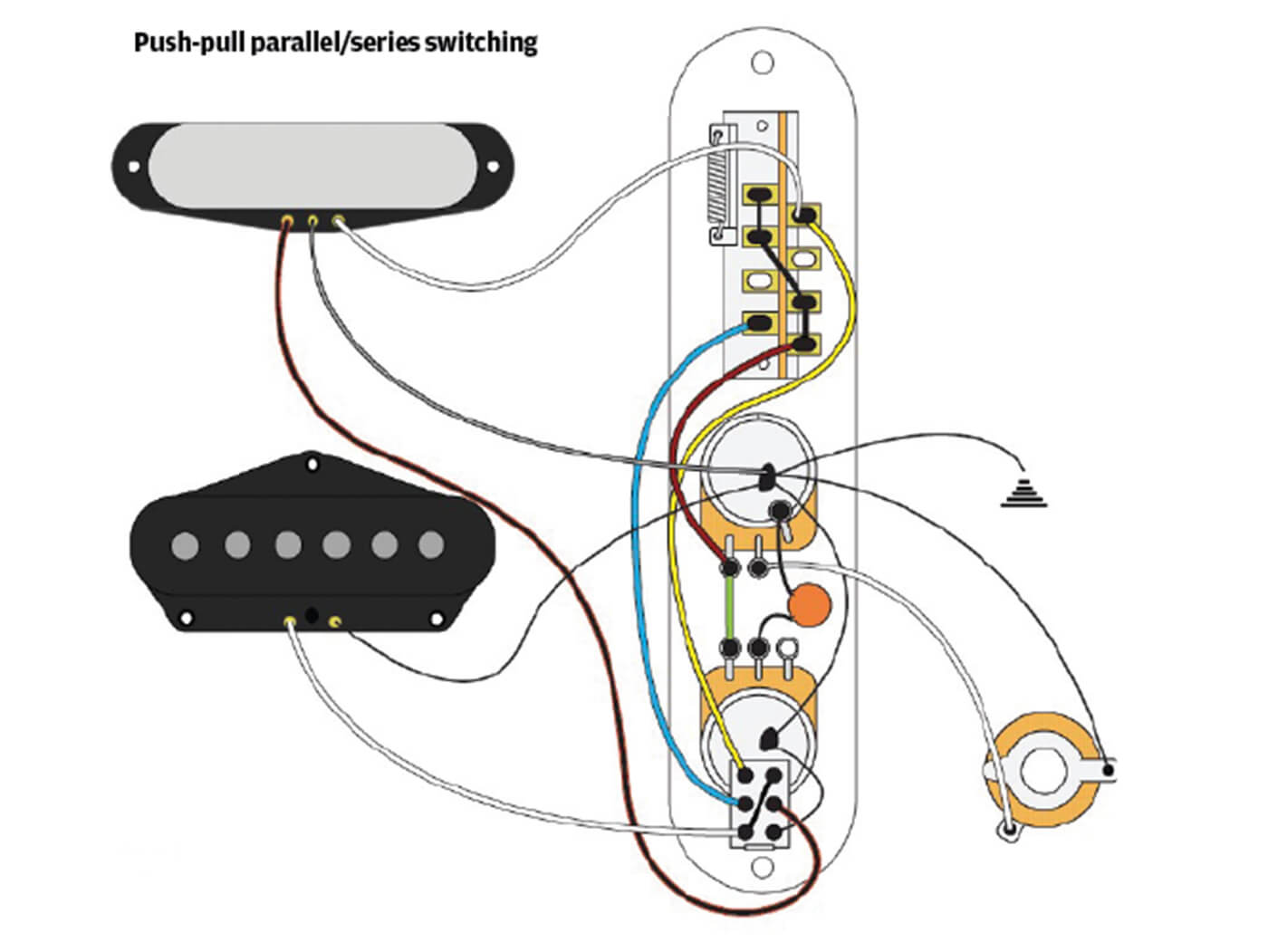 Telecaster 5 Way Switch Wiring Diagram - Database