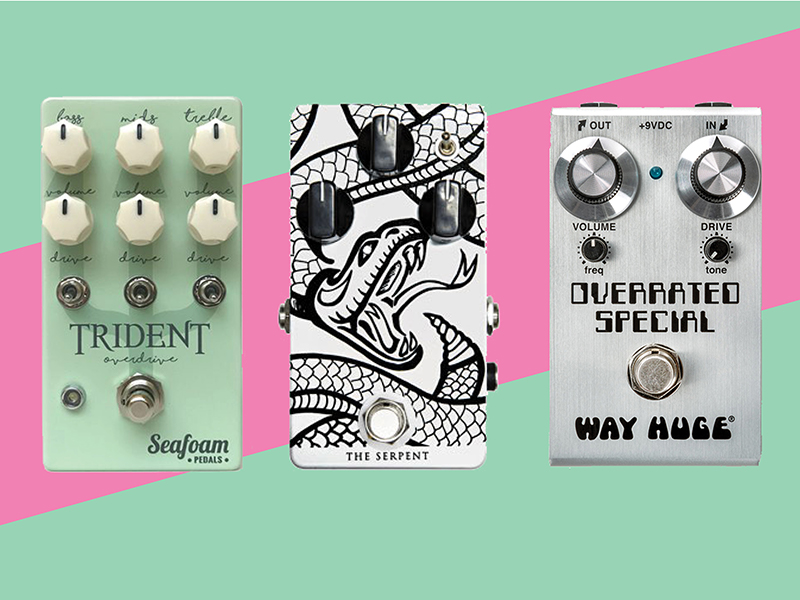 13 new pedals and effects units: August 2018