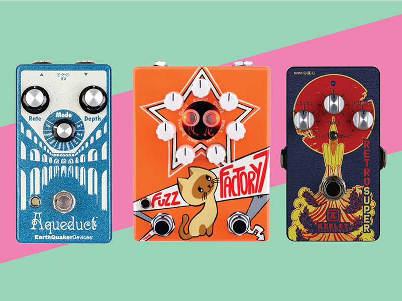 12 new pedals and effects units: September 2018